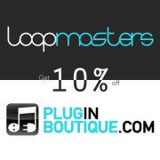 10 percent off loopmasters promo banner sale holiday