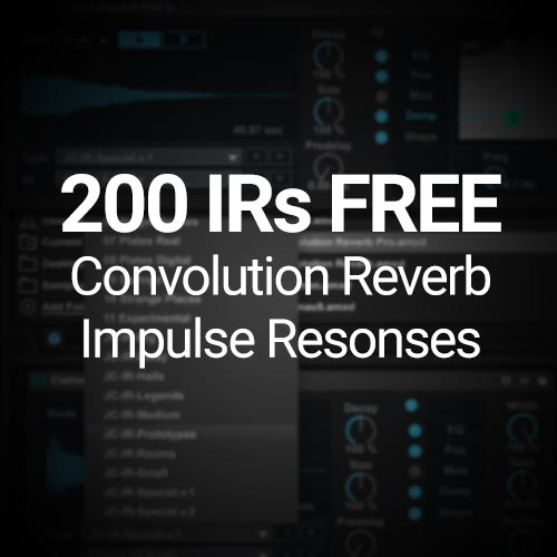 "Exclusive: 200 IRs for Convolution Reverb ""Synthetic ..."