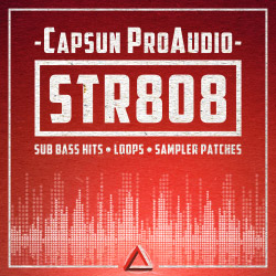 capsun audio - 808 - samples - trap - bass