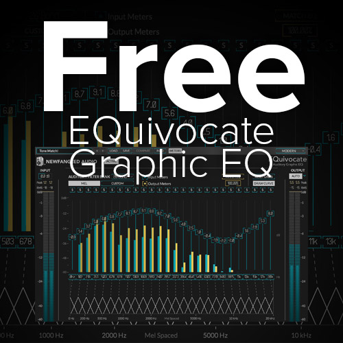 Free - EQuivocate Graphic EQ Plug-in by Newfangled Audio ...