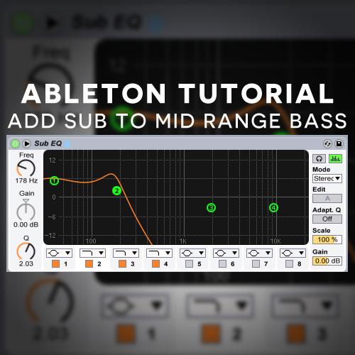Massive Tutorial Adding The Sub To A Lead Bass Free