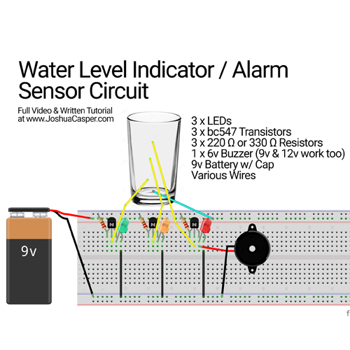 breadboard-diy-project-easy-water Water Level Indicator Schematic on water level gauge, water level pipe, water level plug, water level probes, water level meter, water level starter, water level barometer, water tank indicator, water level trinity lake ca, water level sensor, water level lock, water level switch, water tube level, water level recorder, water level body, water depth indicator, water level illustration, water flow indicator, water level protractor, drum overflow indicator,
