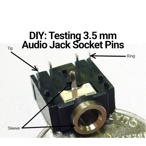 Diy  Finding The Ground Pin On An Audio Jack Socket