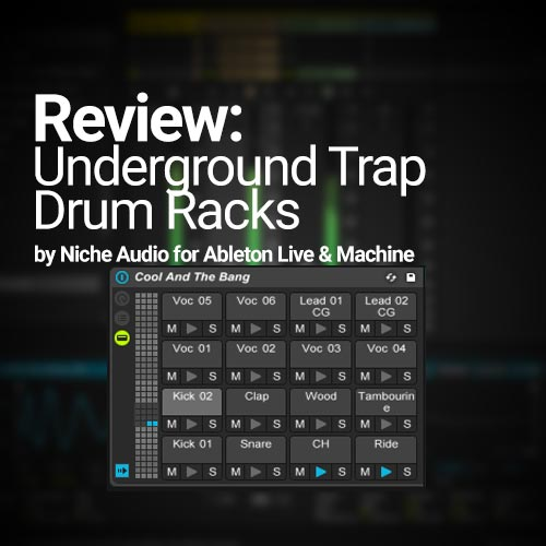 review underground trap drum racks by niche audio joshua casper. Black Bedroom Furniture Sets. Home Design Ideas
