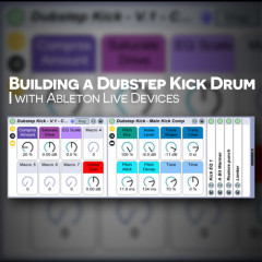 Ableton: Building a Dubstep Kick with Operator